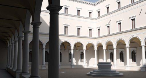 Luca Fagherazzi › Rendering services Belluno - Rendering edificio storico