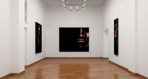 Luca Fagherazzi › Rendering services Belluno - Rendering galleria arte